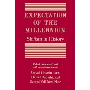 """Image: Cover scan of the book """"Expectation of the Millennium: Shi'ism in History"""""""
