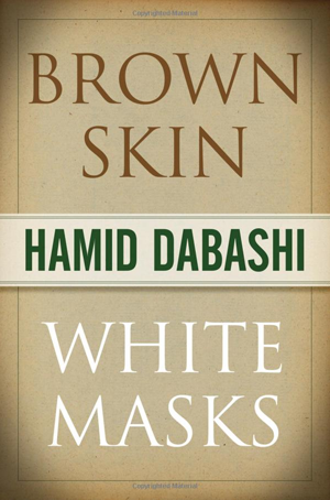 "Image: Scan of front cover of ""Brown Skin, White Masks"" book"